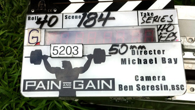 Exclusive Photos from the Pain & Gain Set!